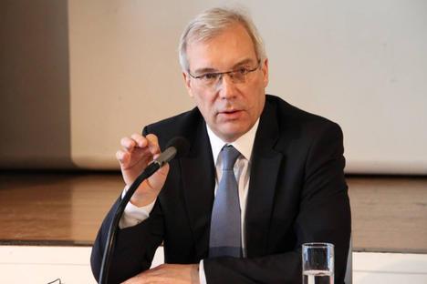 Интервю с Александър Грушко, постоянен представител на Русия в НАТО