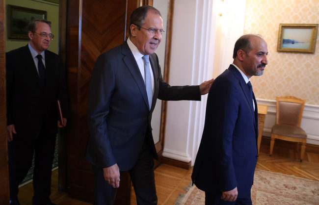 Лавров: Решаването на съдбата на Сирия от самите сирийци е основния принцип за регулиране на конфликта