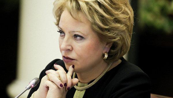 Матвиенко: Украйна се намира под външно управление