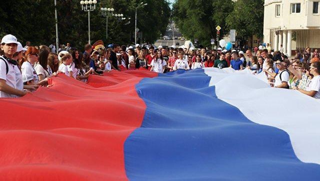 Над три милиона души са участвали в празненствата по случай Деня на Русия