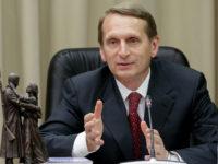 Наришкин: Франция не може да игнорира позицията на Сената за санкциите срещу Русия