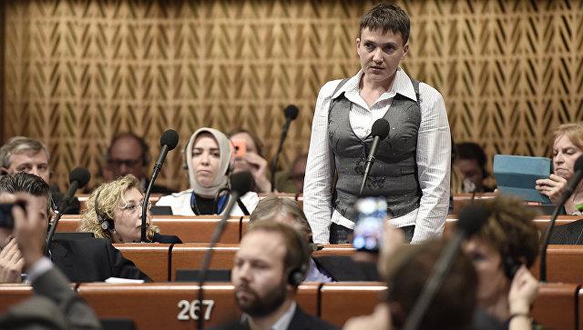 Савченко предложи поетапна отмяна на санкциите срещу Русия