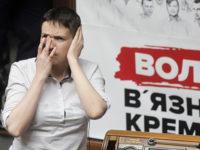 Савченко задрема по време на заседание на парламента