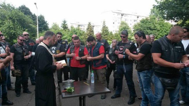 """""""Нощните вълци"""" в Бургас: Ние сме само мотористи. Подкрепяме Путин, но стоим встрани от политиката"""