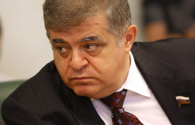 Руски сенатор: Ердоган се опитва да прехвърли вината за сваления Су-24 върху военните