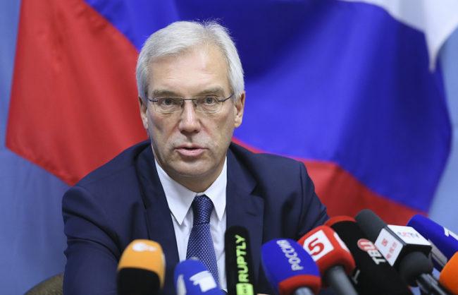 Грушко: В Украйна няма никаква руска военна активност