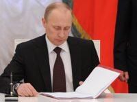 Путин подписа указ за отмяна на ограниченията срещу Турция