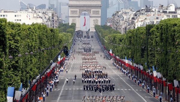 Путин поздрави Франсоа Оланд по случай Деня на превземането на Бастилията