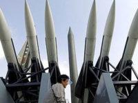 Северна Корея изстреля три балистични ракети