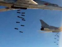 Руски Ту-22М3 нанесоха втори удар по ИД в Сирия (видео)