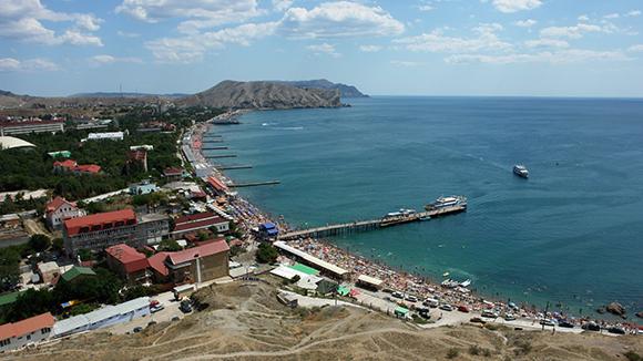 Туристическият поток в Крим и Кубан се оказа двойно по-голям от очакваното