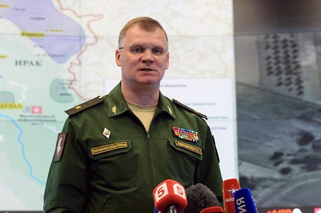 МО на РФ: Отговорността за опасността за военната коалиция в зоната на ударите на ВКС лежи на ръководството й