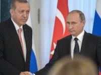 WSJ: Ердоган се опитва да покаже, че Русия може да замени ЕС