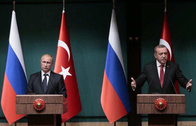 Путин и Ердоган обърнаха страницата на кризата в отношенията между Русия и Турция