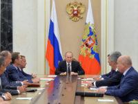 Путин обсъди с членовете на СС на РФ мерките за сигурност в Крим