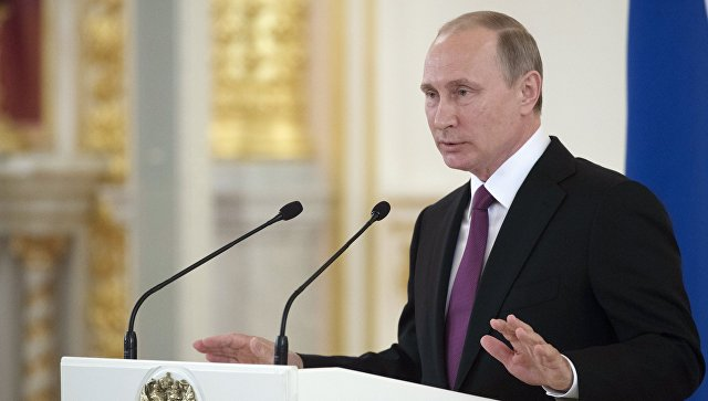 Путин: Използването на терористите за политически цели е недопустимо