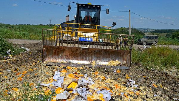 Русия удължи до края на 2017 г. срока за унищожаване на попадащите под ембаргото храни