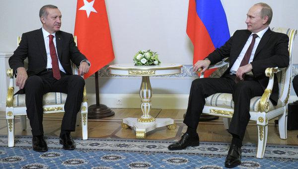 Започна срещата между Путин и Ердоган