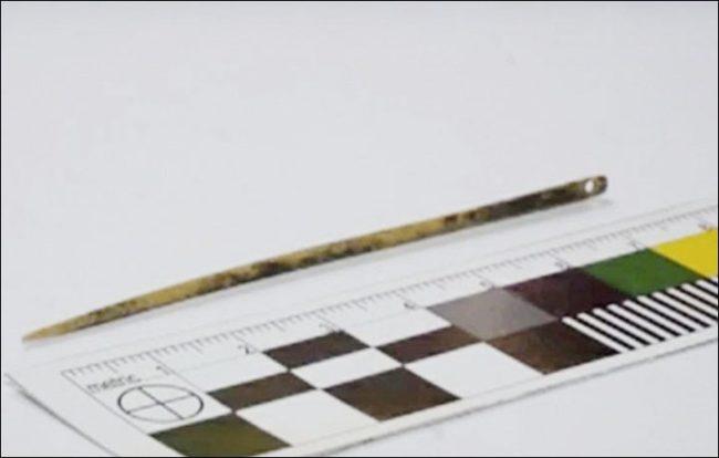 Археолози откриха игла на 50 000 години