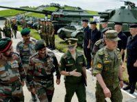 Руснаците учат индийците да стрелят с T-72