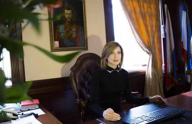Поклонска потвърди, че освобождава длъжността прокурор на Крим