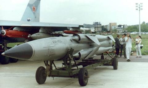 Русия изстреля свръхзвукова ракета край Крим