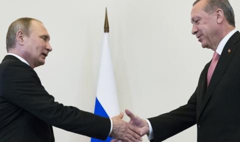 Путин и Ердоган са разговаряли по телефона за кризата в Сирия