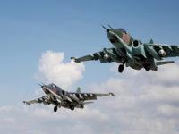 Голяма група щурмови Су-25 е готова да отлети за Сирия в отговор на американските заплахи