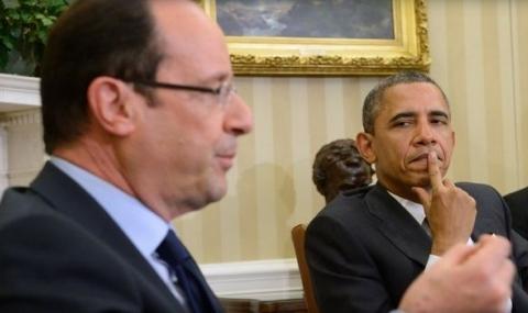 """Франсоа Оланд: Обама е виновен за """"Ислямска държава"""""""