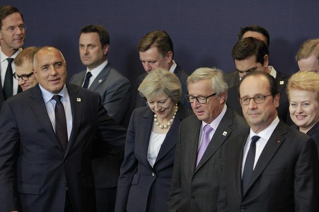 Брюксел (20 октомври 2016) Министър-председателят Бойко Борисов участва в заседанието на Европейския съвет. Пресфото-БТА снимка: МС (ПК)