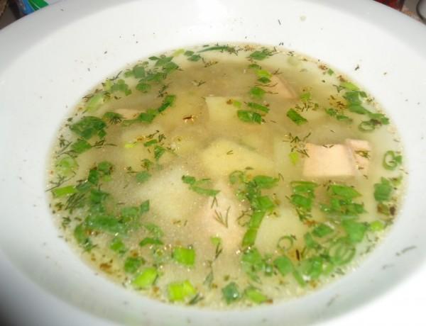 Сибирска супа от риба при настинки и грип