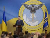 На новия герб на украинското разузнаване сова пронизва с меч Русия