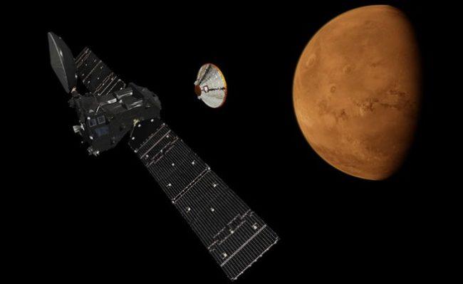 Поредна огромна крачка в търсенето на живот на Марс се осъществява днес