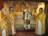 Божествена света литургия на мощите на Св. Николай Чудотворец в Бари изнесена от Западно и Средноевропейския митрополит Антоний