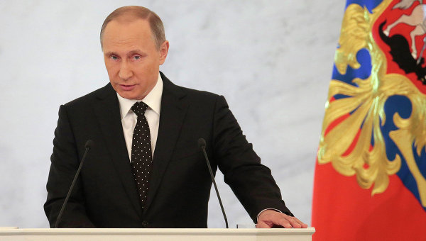 Путин ще направи обръщение към Федералното събрание на 1 декември