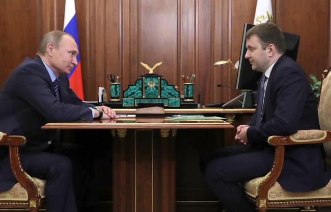 Максим Орешкин е новият министър на икономиката на Русия