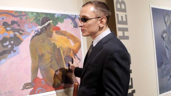 Изложба за незрящи беше открита в Москва