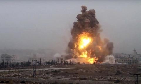 САЩ признаха грешка, довела до смъртта на сирийски войници