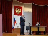 В средното училище към Посолството на РФ в България се проведе среща с А.Л.Столетов