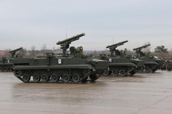 В Русия разработват противотанков ракетен комплекс от ново поколение