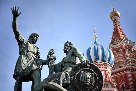 Паметник на Минин и Пожарски на Червения площад. Снимка: Lori / Legion-Media