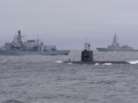 Руски кораби прогониха подводница-шпионин на НАТО