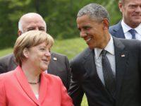 По време на визитата си в Германия Обама заяви, че Русия има влияние в целия свят
