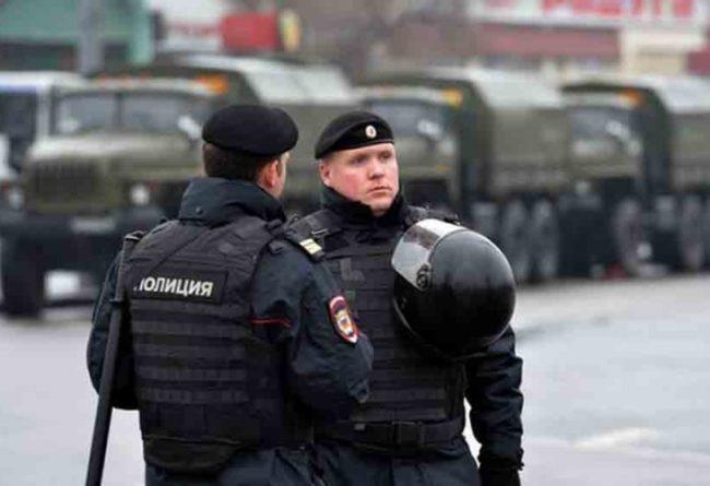 Руските власти задържаха група мигранти, заподозрени в подготовка на атентати в Москва (видео)