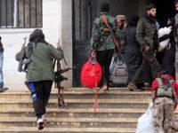 Около 3000 терористи се предадоха в района на Дамаск