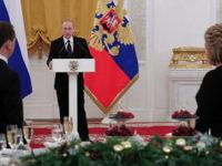 Приемът за Нова година на Путин променен заради трагедията