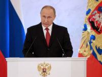 """""""Русия ни е една"""": посланието на Путин пред Федералното събрание в цитати"""