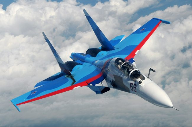 """Чисто нови """"Сухой"""" Су-30СМ се присъединиха към ЧФ в Крим"""