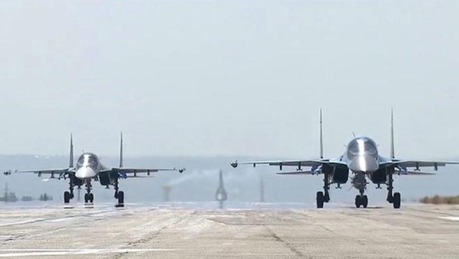"""Русия бомбардира със самолети """"Ислямска държава"""" в Северна Сирия"""