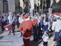"""Впечатляващи кадри: Дамаск пее """"Катюша"""" – Сирия поздравява Русия с Рождество Христово (Видео)"""